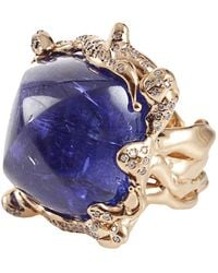 Lucifer Vir Honestus - Cabochon Tanzanite Ring - Lyst