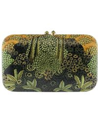Silvia Furmanovich - Floral Hand Painted Clutch - Lyst