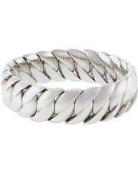 Sidney Garber - Polished Wave Stretch Bracelet - Lyst
