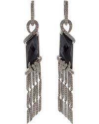 Stephen Webster - Hematite And Quartz Earrings - Lyst