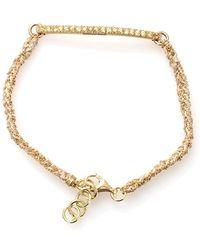 Carolina Bucci - Kaleidoscope Bracelet With Sapphire Pave - Lyst