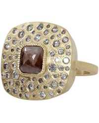 Todd Reed - Brown Fancy Diamond Ring - Lyst