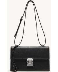 4727109b27d3 Lyst - Saint Laurent Baby Monogram Downtown Cabas Bag In Ultramarine ...