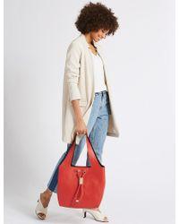 Marks & Spencer - Faux Leather Toggle Shoulder Bag - Lyst