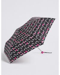 Marks & Spencer - Animal Print Compact Umbrella With Stormweartm - Lyst