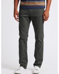 Marks & Spencer - Regular Fit Stretch Staynewtm Jeans - Lyst