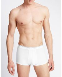Marks & Spencer - 3 Pack Cool & Freshtm Cotton Hipsters With Staynewtm - Lyst