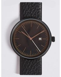 Marks & Spencer - Modern Round Date Watch - Lyst