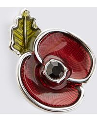 Marks & Spencer - The Poppy Collection® Enamel Collar Pin - Lyst