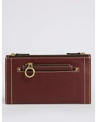 Marks & Spencer - Leather Removable Coin Purse - Lyst