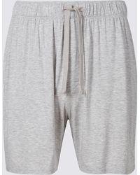 Marks & Spencer - Modal Rich Pyjama Shorts - Lyst