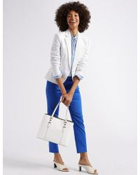 Marks & Spencer - Faux Leather Soft Stud Tote Bag - Lyst