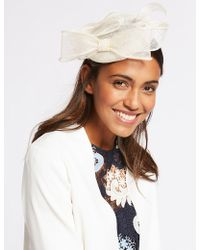 Marks & Spencer - Pillbox Bow Fascinator - Lyst