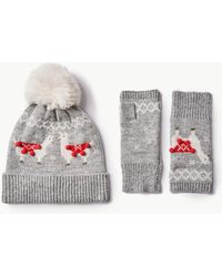 Marks & Spencer - Llama Hat With Gloves Set - Lyst