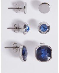 Marks & Spencer - Multi Bling Earrings Set - Lyst