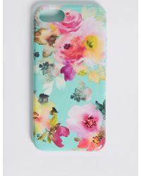 Marks & Spencer - Iphone 7 Floral Print Phone Case - Lyst