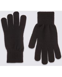 Marks & Spencer - Knitted Gloves - Lyst