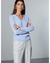 Marks & Spencer - Pure Cashmere V-neck Jumper - Lyst