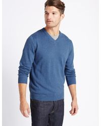 Marks & Spencer - Pure Cotton Jumper - Lyst