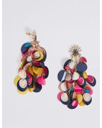 1836cfd0493 J.Crew · Marks   Spencer - Sequin Shaker Drop Earrings - Lyst