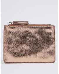 Marks & Spencer - Faux Leather Coin Purse - Lyst