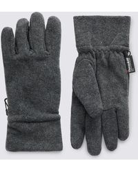 Marks & Spencer - Fleece Gloves With Thinsulate - Lyst