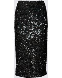 6c46a30faa Marks & Spencer - Embellished Pencil Midi Skirt - Lyst
