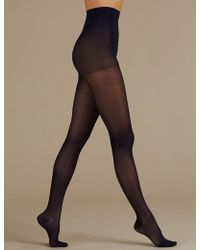 f9675721a Marks   Spencer - 20 Denier Firm Support Sheer Tights - Lyst