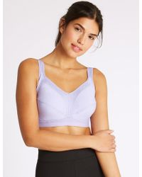 Marks & Spencer - 2 Pack High Impact Sports Bras A-GG - Lyst