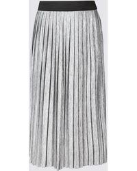 4b82aef419 Marks & Spencer Drop Waist Maxi Skirt in White - Lyst