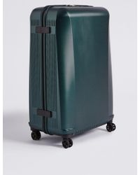 Marks & Spencer - Large 4 Wheel Ultralight Hard Suitcase With Security Zip - Lyst