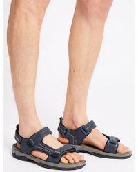 Marks & Spencer - Riptape Sandals - Lyst
