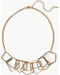 Marks & Spencer - Hexagon Shapes Necklace - Lyst