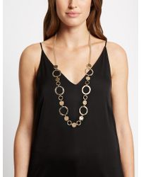 Marks & Spencer - Rings Rope Necklace - Lyst