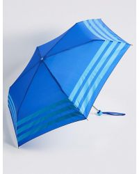 Marks & Spencer - Striped Compact Umbrella With Stormweartm - Lyst