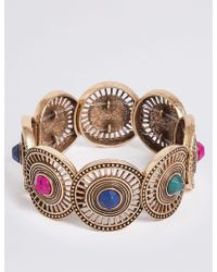 Marks & Spencer - Circle Gem Bracelet - Lyst