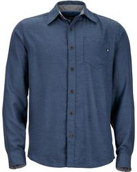 Marmot - Hobson Flannel Long Sleeve Shirt - Lyst