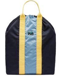 Marni - Backpack-shopping Bag In Blue Nylon - Lyst