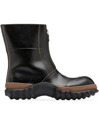 Marni - Half Boot In Calfskin - Lyst