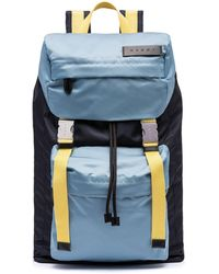 Marni - Backpack In Blue Nylon - Lyst