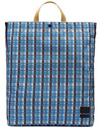 Marni - Porter Tote Bag In Nylon With Metro Print - Lyst