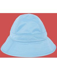 Marni - Fisherman Hat In Pale Blue Nylon - Lyst