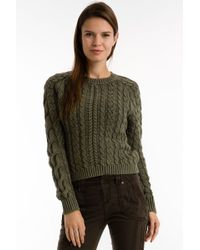 Marrakech - Sarah Cable Knit Sweater - Lyst