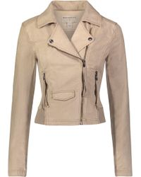 Marrakech - Ashley Suede French Terry Jacket - Lyst