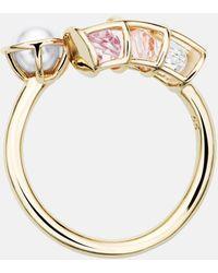 Mary Katrantzou - Nostalgia Spiral Ring Vintage Rose - Lyst