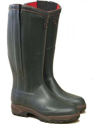 Aigle - Parcours 2 Iso Open Full Zip Wellies Hunting Boots - Lyst