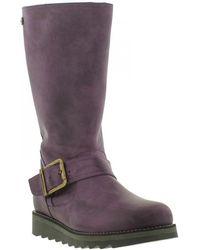 Oak & Hyde - Coast Mid Leather Boots - Lyst