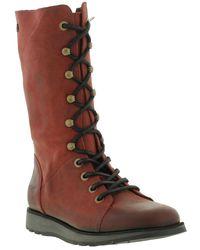 Oak & Hyde - Batalion Mid Calf Leather Boots - Lyst