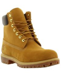 Timberland - 6 Inch Premium Yellow Classic Wide Waterproof Boots - Lyst