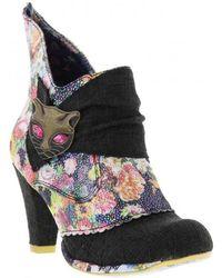 Irregular Choice - Miaow Bootie High Heels - Lyst